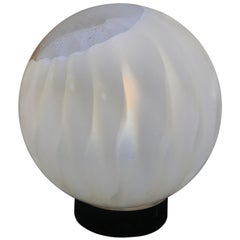 Mid-Century Modern Table Lamp by Mazzega in Murano Glass, circa 1960