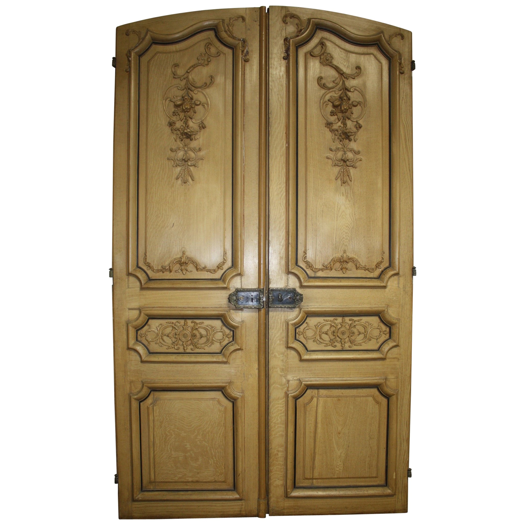 Magnificent Pair of 19th Century French Doors