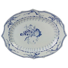 Large Serving Plate Rörstrand Replica of 1700s Pattern