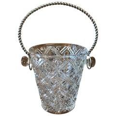Elegant Mid-Century Modern Ice Bucket, France, 1950s