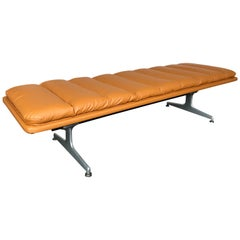 Bench Leather by Geoffrey D. Harcourt for Artifort, Netherlands, 1970s