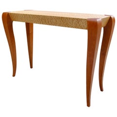 Gazelle Console Table, Contemporary Sofa Table in Art Deco Style