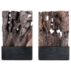 Unique Contemporary 'Diptych' Sculptures by Jerome Abel Seguin