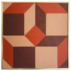Small Geometric Painting Deborah Kowansky, 1979