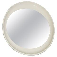Unusual Space Age Wall Hanging Mirror