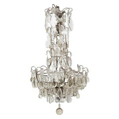 Louis XV Style Crystal Chandelier, France, circa 1930