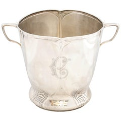Art Nouveau Sterling Silver Wine Cooler by Orivit