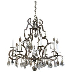 "Dennis & Leen 6-Light ""Chateau"" Chandelier in Chateau Finish"
