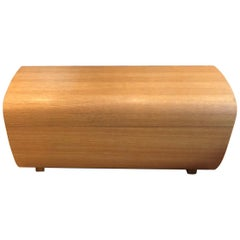 """Scot Laughton """"Cache"""" Moulded Wood Storage Chest"""