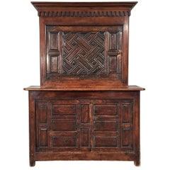 18th Century Pantry Sideboard with Two Doors