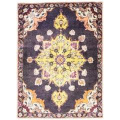 Magnificent Antique Persian Tabriz Oriental Rug