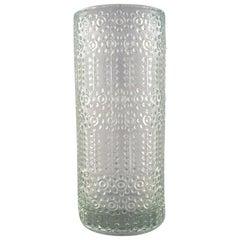 Nanny Still for Riihimäen Lasi, Finnish Grapponia Glass Art Vase