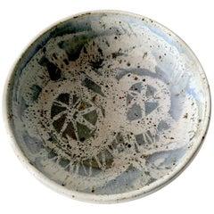 John Fassbinder California Studio Stoneware Bowl