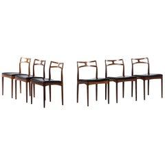 Johannes Andersen Dining Chairs Model 94 by Chr. Linnebergs Møbelfabrik