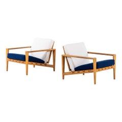 Svante Skogh Easy Chairs Model Bodö by Seffle Möbelfabrik in Sweden