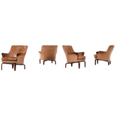 Arne Norell Easy Chairs Model Pilot by Arne Norell AB in Sweden