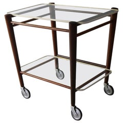 1950s Dutch Serving Trolley by Cees Braakman for Pastoe