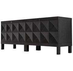 De Coene Sideboard in Black Stained Oak