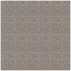 Forager Wallpaper in Warm Grey by 17 Patterns