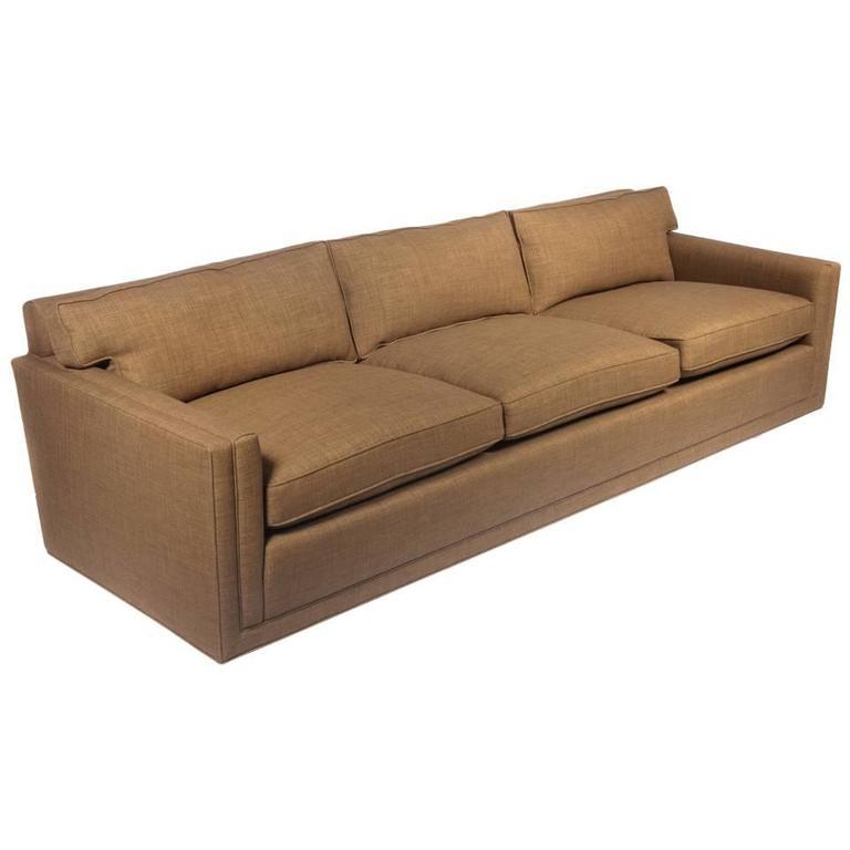 Classic Three-Seat Dunbar Sofa, Circa 1960s For Sale
