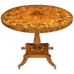 George IV Tilt-Top Specimen Table