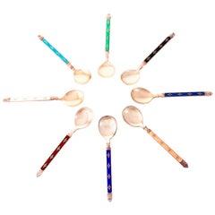 Sterling Demitasse Spoons