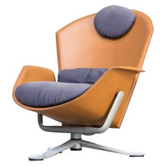 1994s Pelikan Design 'Ypsilon' Lounge Swivel Fauteuil for Matteograssi