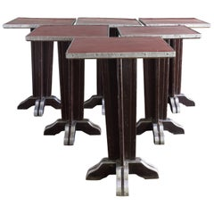 French Art Deco Café Tables