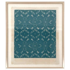 Folly Cove Designers Snow Flurry Hand Block Print