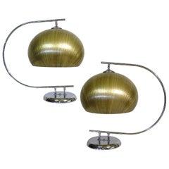 1960s Italian Modern Table Lamps by Harvey Guzzini