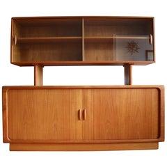 Midcentury Danish Modern Teak Floating Shelf