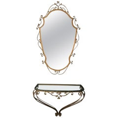 Pier Luigi Colli Console and Mirror