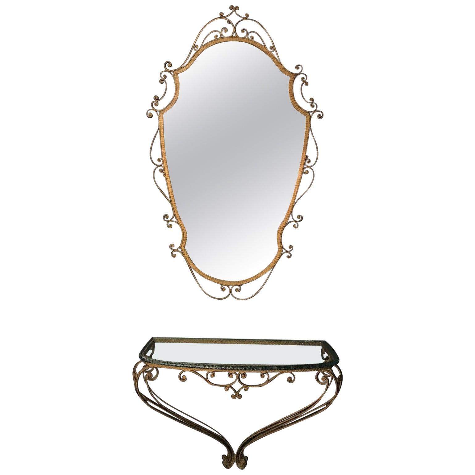 Pier Luigi Colli Console and Mirror
