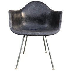 Herman Miller Eames DAX Armchair in Black
