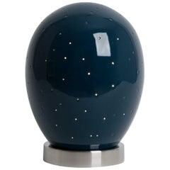 J Schatz Studio 2018 Star Egg Nightlight, Mid-Century Modern Stoneware, in Stock