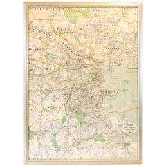 Original Map of Boston