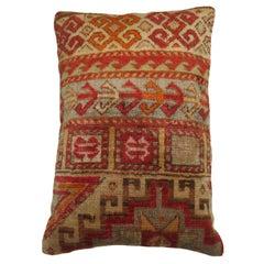Antique Turkish Sivas Rug Pillow