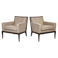Pair of Classic Lounge Chairs by T.H. Robsjohn-Gibbings