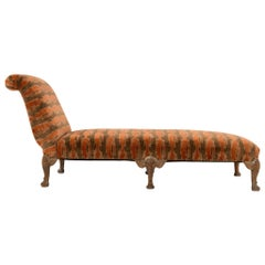 Early 20th Century Regency Style Chaise