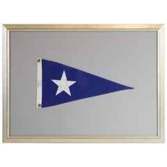 Framed Nautical Pennant