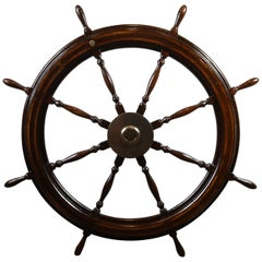 Five-Foot Ship's Wheel