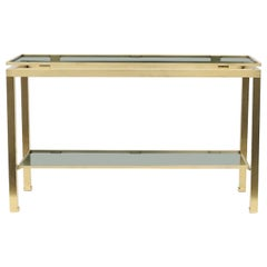 Guy Lefevre for Maison Jansen Two-Tier Console