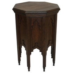 Moroccan Taboret Side Table, Early 20th Century