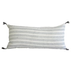 Decorative Lumbar Pillow with Fringe