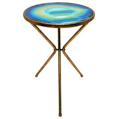 Gold Gilt Side Table