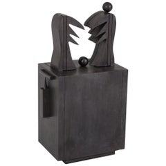 CoBrA Art Sculpture 'Oizal' by Serge Vandercam, 1974