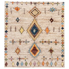 21st Century Modern Moroccan Style Rug