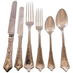 Persian by Tiffany Sterling Silver Flatware Set of Service 92 Pieces