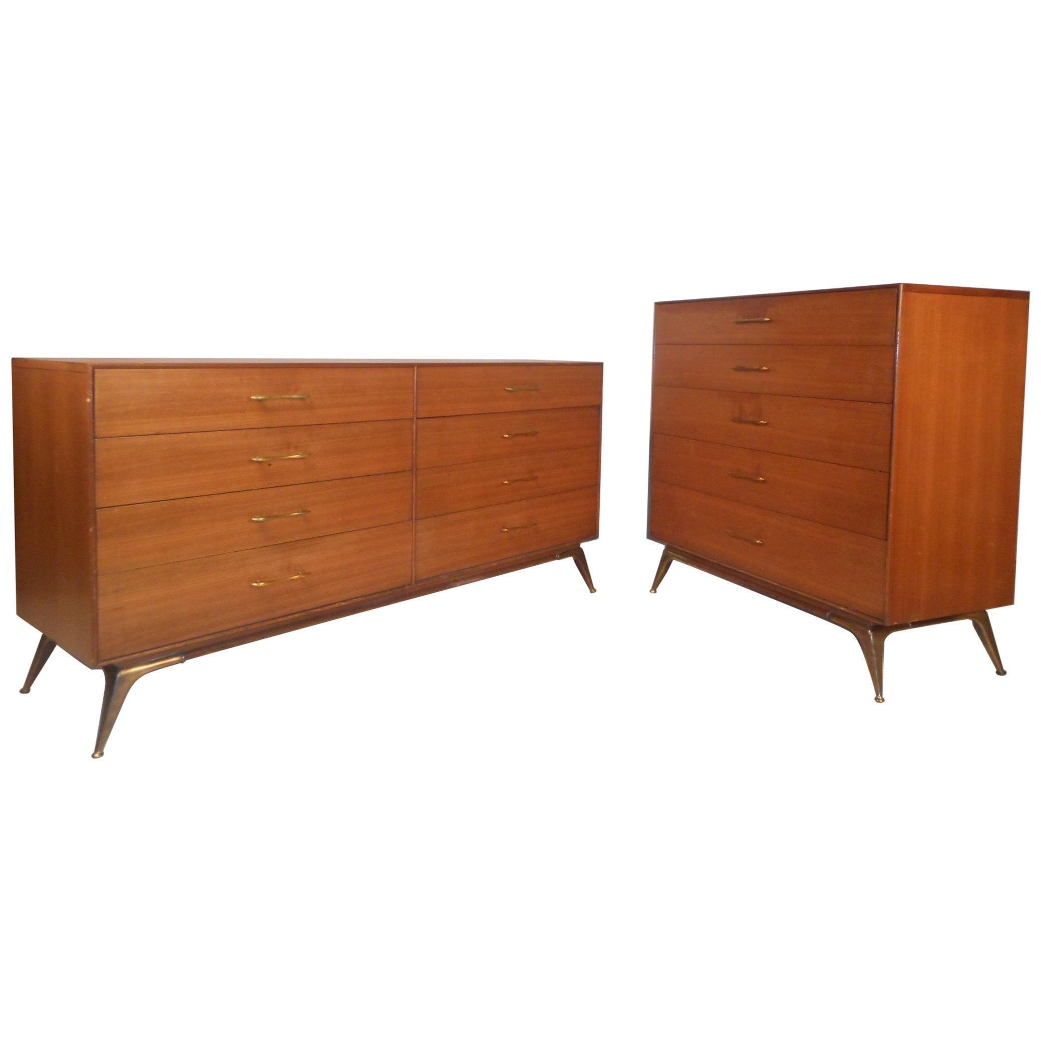 Mid-Century Modern Bedroom Set by R-Way Furniture