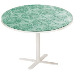 Dining Table Caldas 100Ø with Handmade Tiles